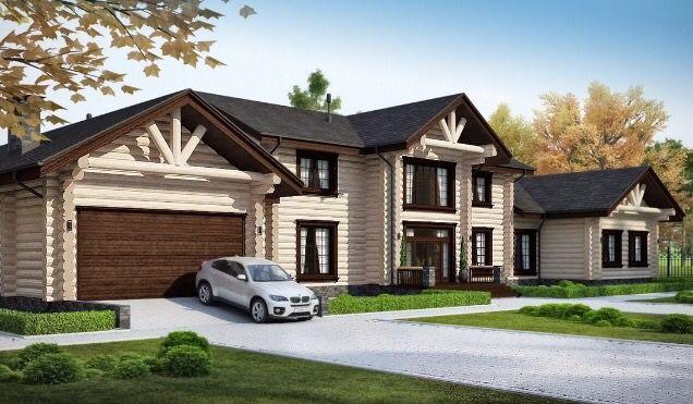 Колониальный стиль. Проект от компании Дачный Альянс. Цена от 10.000.000 руб.  Срок строительства 90 дней.
