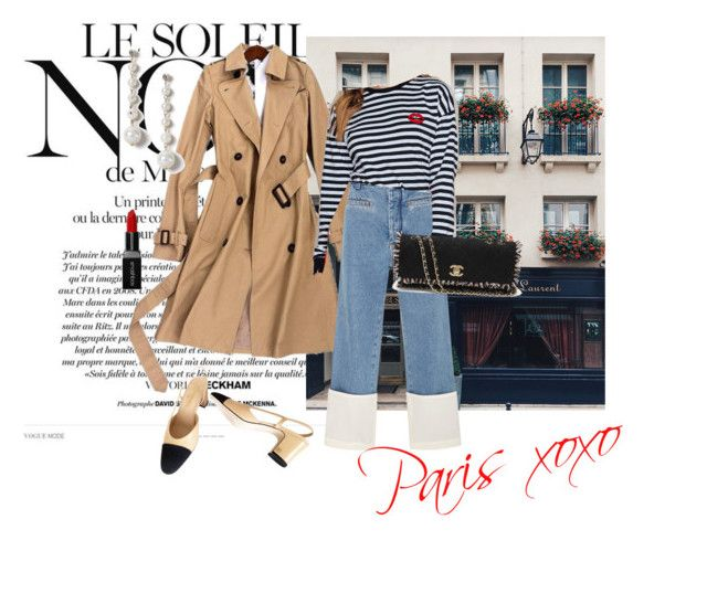 Paris xoxo by vanessawblogg on Polyvore featuring Loewe, Chanel, Miss Selfridge, Smashbox and Marc Jacobs
