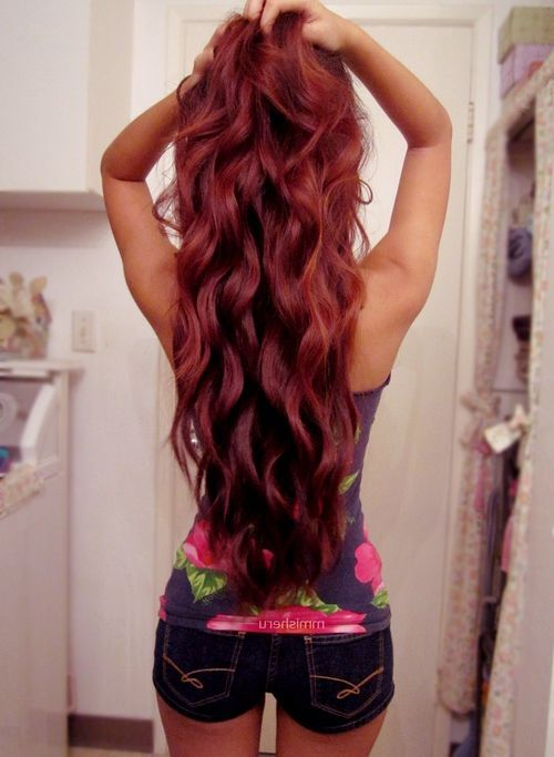 25 Best Ideas About Burgundy Hair Colors On Pinterest
