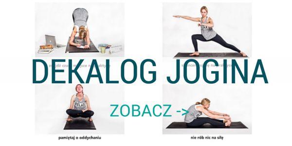 Spójrz na siebie, to jak traktujesz swoją praktykę jogi (nieważne czy w domu czy w studiu) i... samego siebie. Czy masz własne zasady? Czy znajdujesz to czego szukasz? Oto jak ćwiczyć, praktykować i doświadczać czyli mały dekalog jogina.