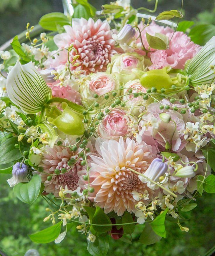 いいね!1,426件、コメント7件 ― @jardinduillonyのInstagramアカウント: 「〜bouquet du jour〜 #flower #flowers #flowerstagram #illony #beautiful #bouquet #petals #flowerart…」