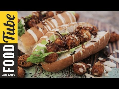Scallop Po Boy for Jamal Edwards | Food Busker - YouTube