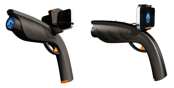Xappr Gun is a new gaming accessory that connects to a smartphone and allows you to play various augmented-reality and shooter games.: Windows Phone, Window Phones, Tags Smartphone, Eye
