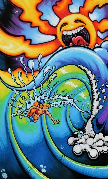 Drew Brophy Signature Surf Style Art - Drew Brophy - Surf Lifestyle Art