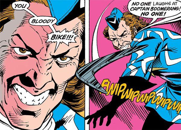 Captain Boomerang - DC Comics - Flash's rogues - Suicide Squad