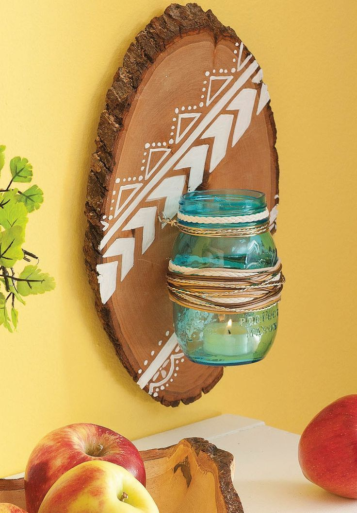 59 Best Images About Diy Mason Jar Projects With Wood On
