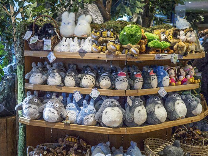 Studio Ghibli merchandise shop Asakusa Tokyo Japan Skytree Solamachi mall Totoro plush official