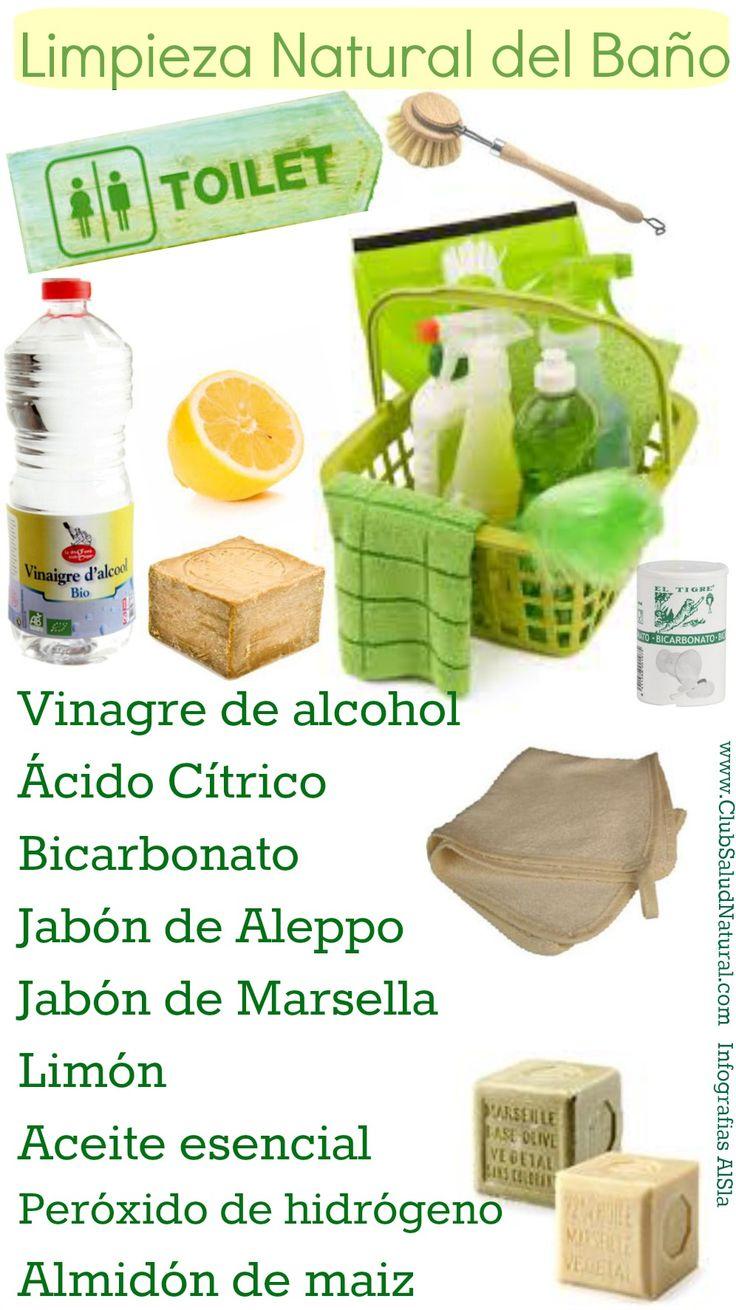 Como limpiar el ba o sin productos t xicos club salud for Productos para el bano