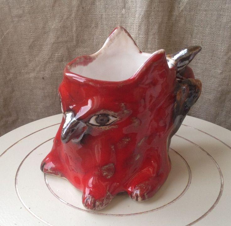 Griffon cup by SkojSkoj design studio (www.facebook.com/...)