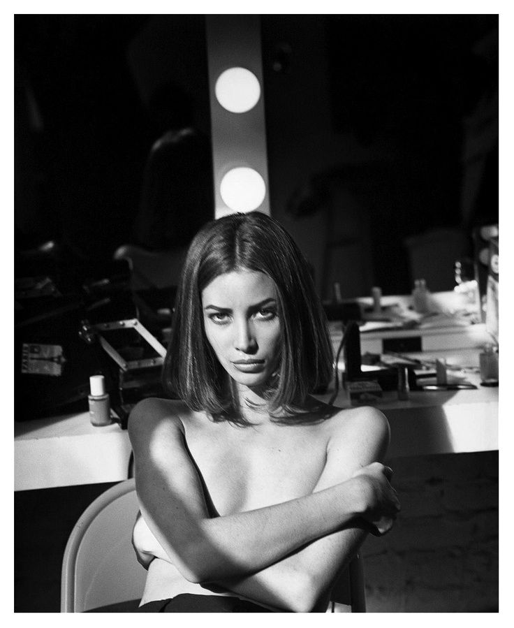 Christy Turlington by Steven Meisel  | @bingbangnyc
