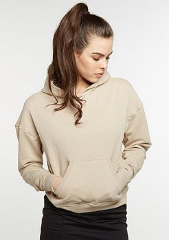 Sweat Hoody Inside Out sand
