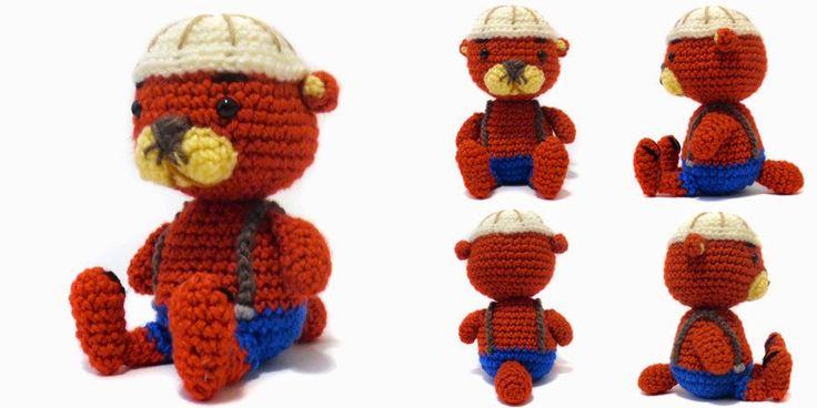 Amigurumi Otter - FREE Crochet Pattern / Tutorial FREE ...