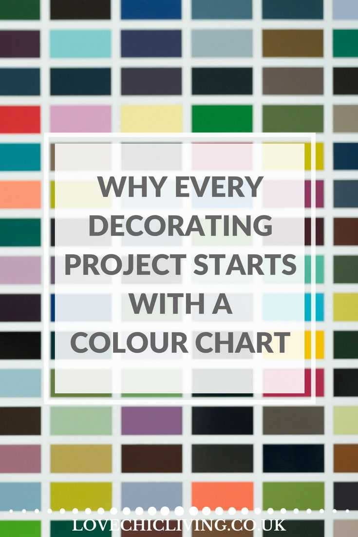 Color crimson on pinterest style guides painted - Why Every Decorating Project Starts With Colour Charts