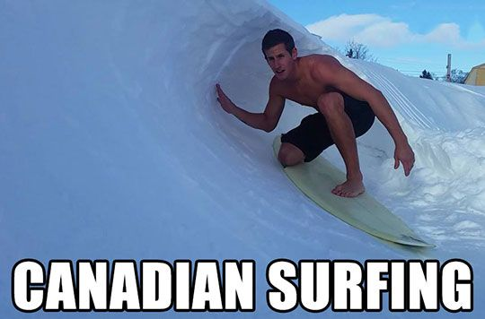 Canadians Surf Too