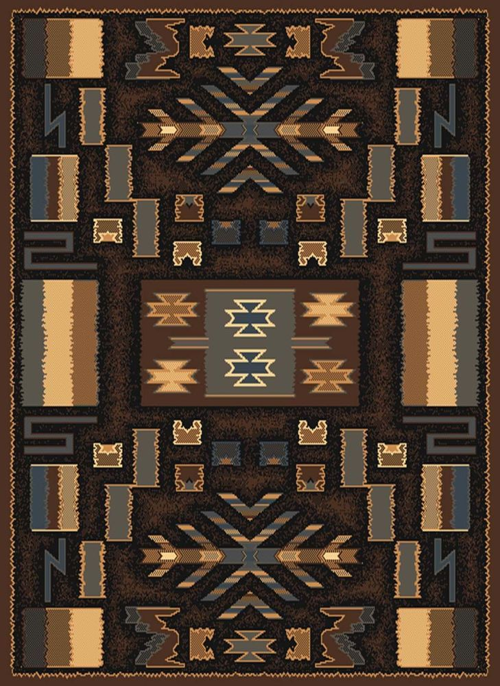 Brown Multi Southwest Carpet Modern Lodge Native American Contemporary Area Rug Interior Beauty Pinterest And