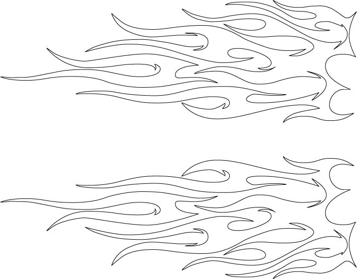 Tribal Flames Tattoo Pattern For Flame Spread Of Bamboo Flooring