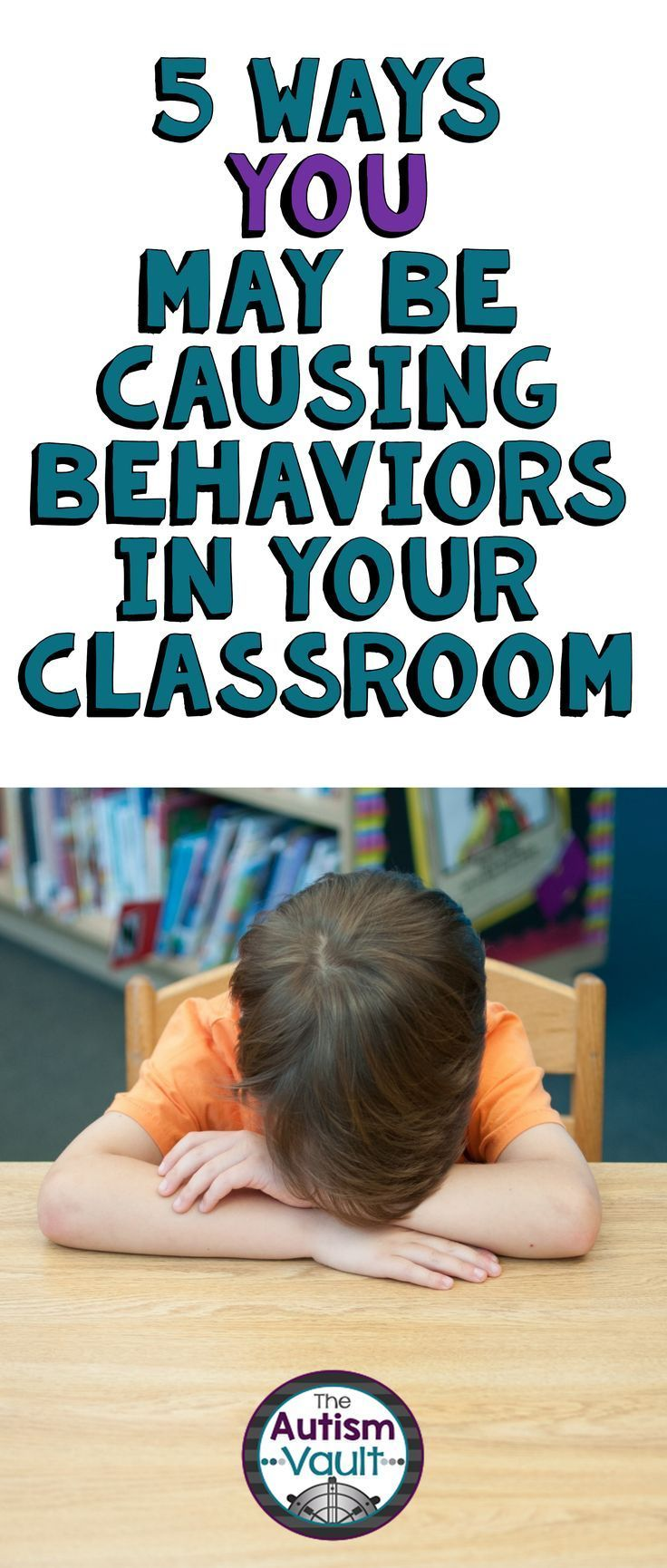 Our classrooms may be the cause for behaviors more than we realize.  Read about some considerations to keep in mind when teaching in an autism classroom.