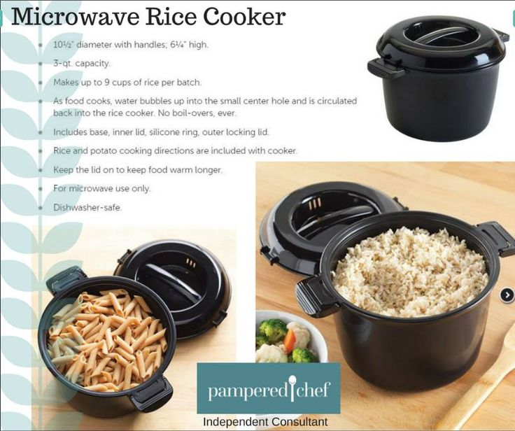 Pampered Chef Microwave Rice Cooker Cake Recipes