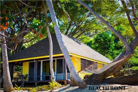 Stay at our beachfront family bure accommodation or hillside private accommodation overlooking the surfers' hot spot #cloudbreak and fantastic views of the Mamanuca islands. Find out more on our website: