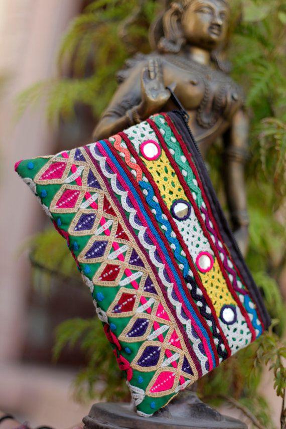 cosmetic bag by Fabricashoka on Etsy