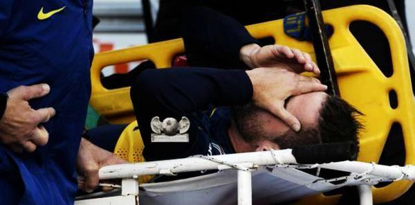 Fernando Gago es operado por la rotura del tendón de aquiles. Necesitará 6 meses de recuperación.
