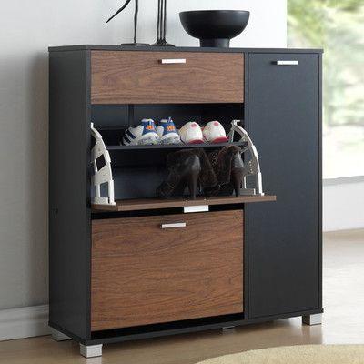 Wholesale Interiors Baxton Studio Chateau Storage Cabinet & Reviews | Wayfair