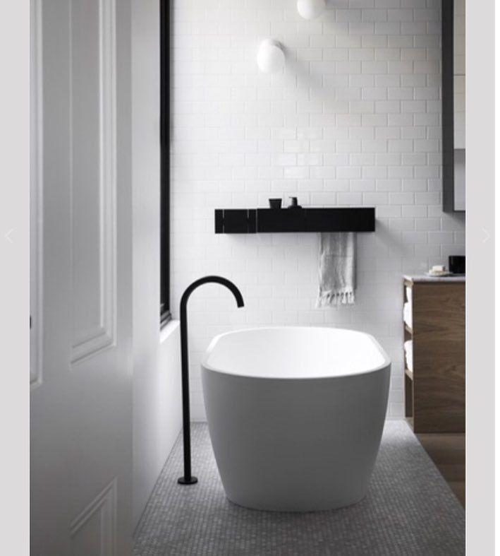 bplusdesign blog sharing minimalist bathroom bath tub interior styling by neutral instinct
