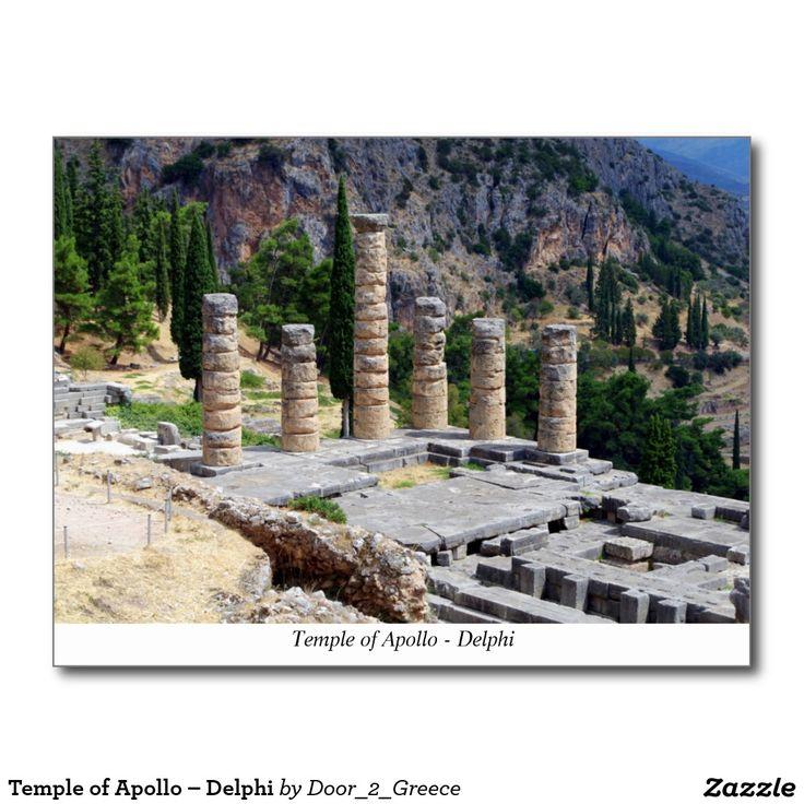 Temple of Apollo – Delphi Postcard