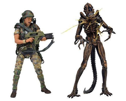 Aliens — Hudson vs Brown Warrior, Чужие — Хадсон против чужого-воина, набор фигурок