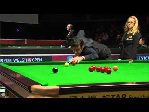 "Because the prize money for a maximum 147 break ""wasn't enough"" Ronnie 'the rocket' O'Sullivan purposefully makes a 146 break instead!"