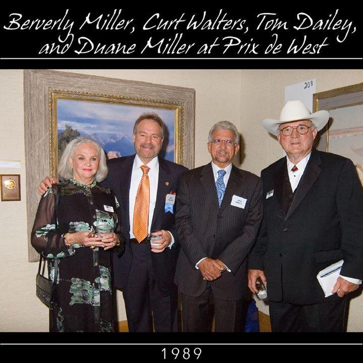 2007 Berverly Miller Curt Walters Tom Dailey Duane Miller at Prix de West.
