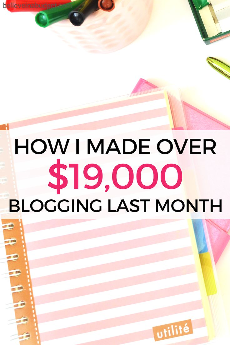 Learn How To Make Money Online! Blogging Started Out As A Side Hustle It's