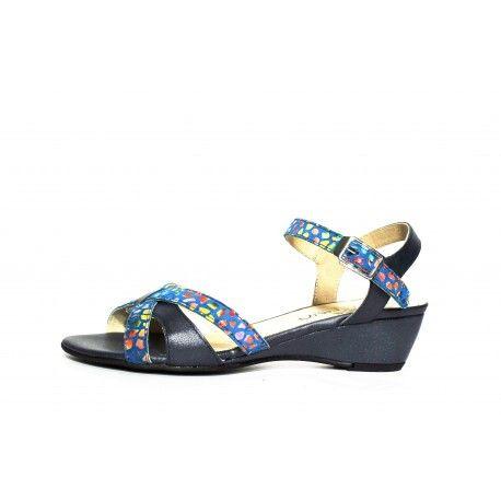 Sandale geo reino en solde idéal pour l'hallux valgus à découvrir www.cardel-chaussures.com