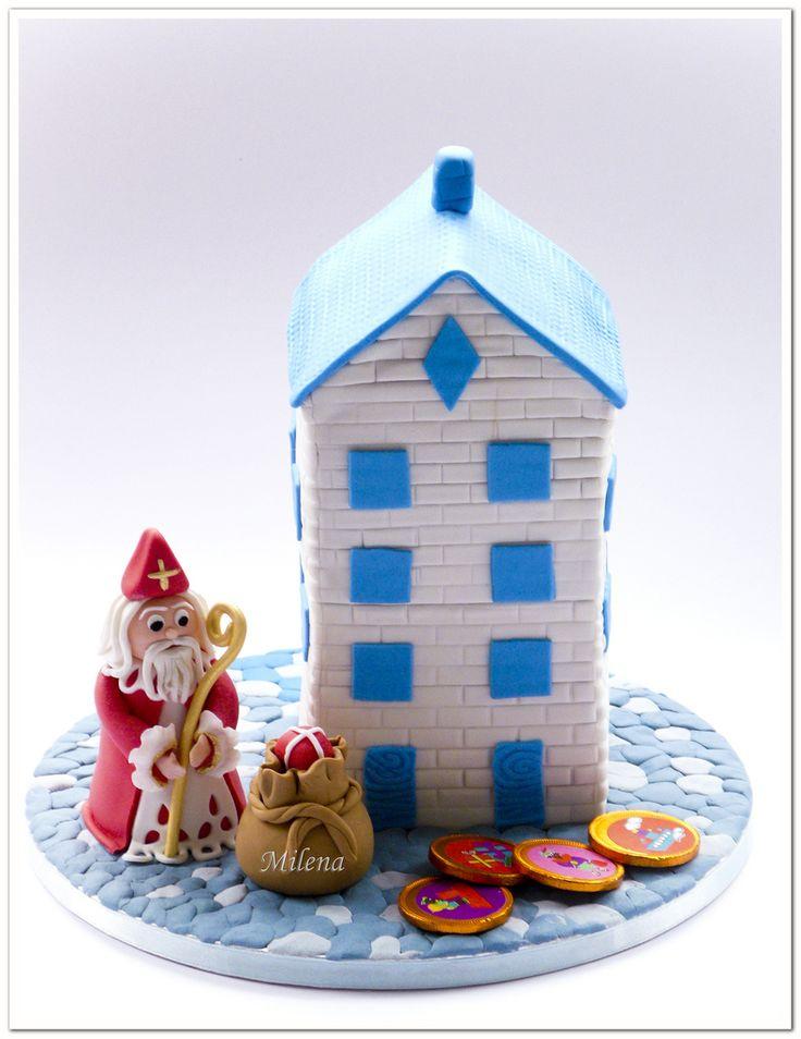 Sinterklaas Cake.