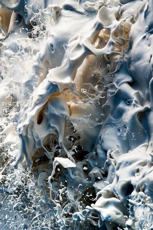 7while23: Ger Kelliher - High Speed Sea Foam Photography