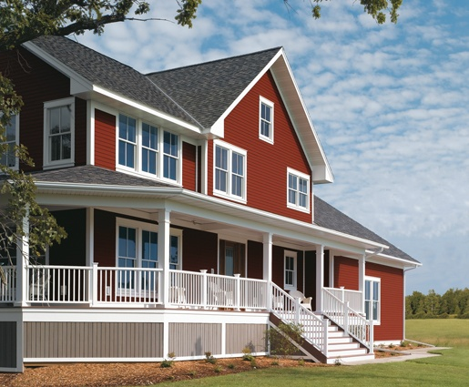 1000 images about exterior colors on pinterest shake for Prefinished siding