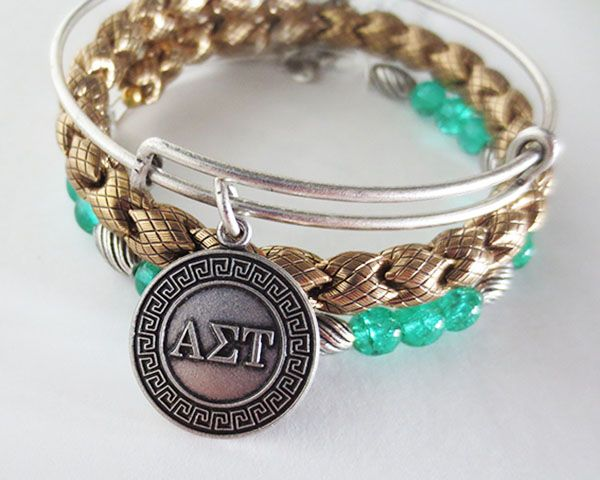 I want an Alex and Ani bangle so bad...  Alpha Sigma Tau #withlove