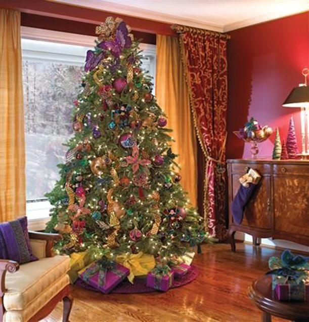 Inspirations Design At Christmas Tree Decorating Ideas Elegant View