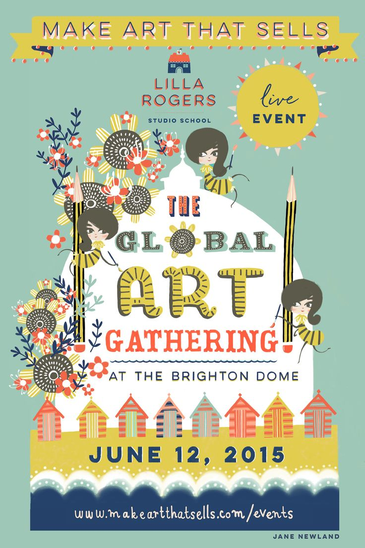 Poster design 2015 - Bootcamp Assignment April Poster Design For The Global Art Gathering A Lilla