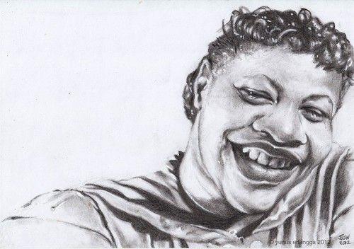 ella fitzgerald | charcoal on paper | joen yunus 2012
