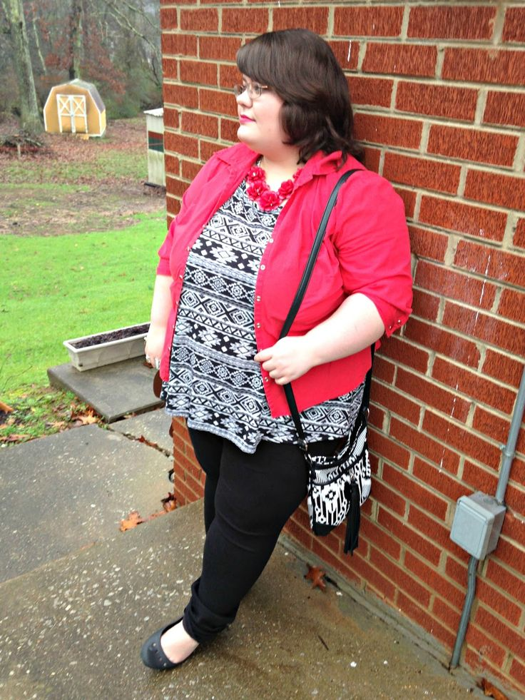 Unique Geek: Plus Size OOTD: Sleigh Bells Ring: