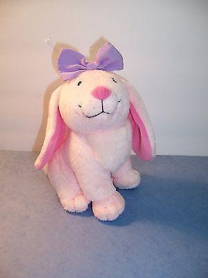 Clifford's Puppy Days  Daffodil Pink Bunny Rabbit Plush 8 Big Red Dog  NWOT