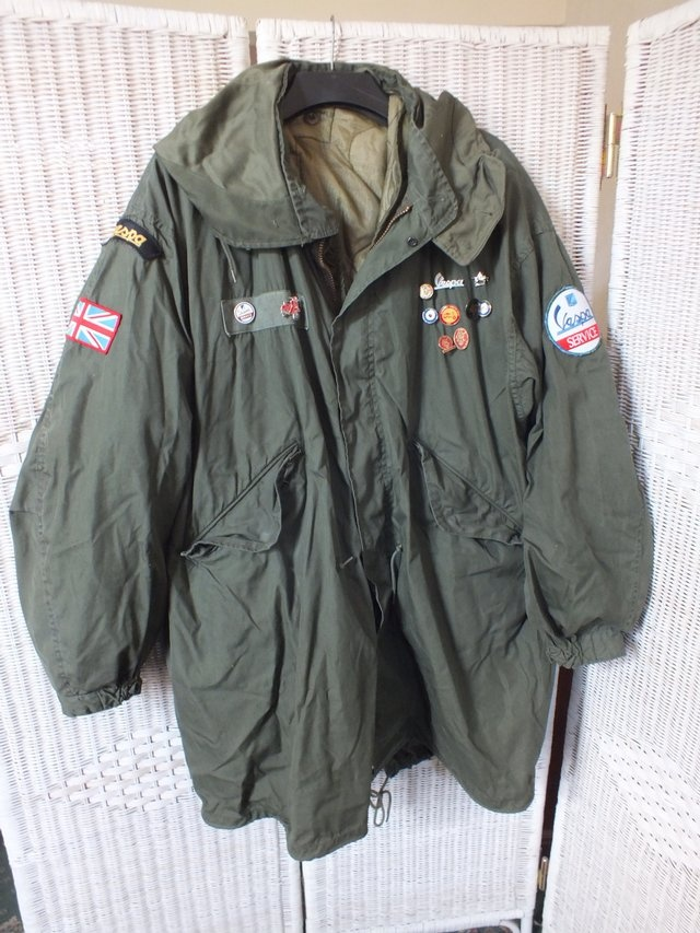 We are the Mods! Add a bit of Quadrophenia style to your wardrobe with this #vintage original Mod fishtail parka.