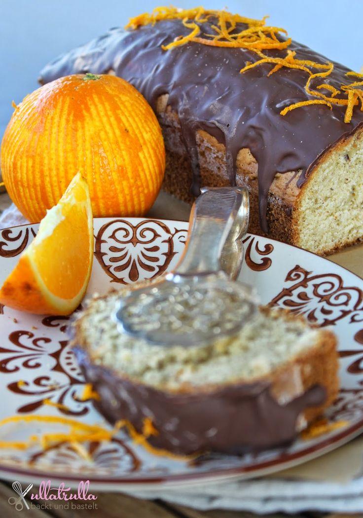 ullatrulla backt und bastelt: Kuchen wie von Oma | Rezept für Orangen-Nusskuchen