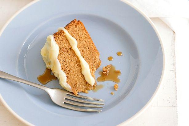 Caramel mudcake