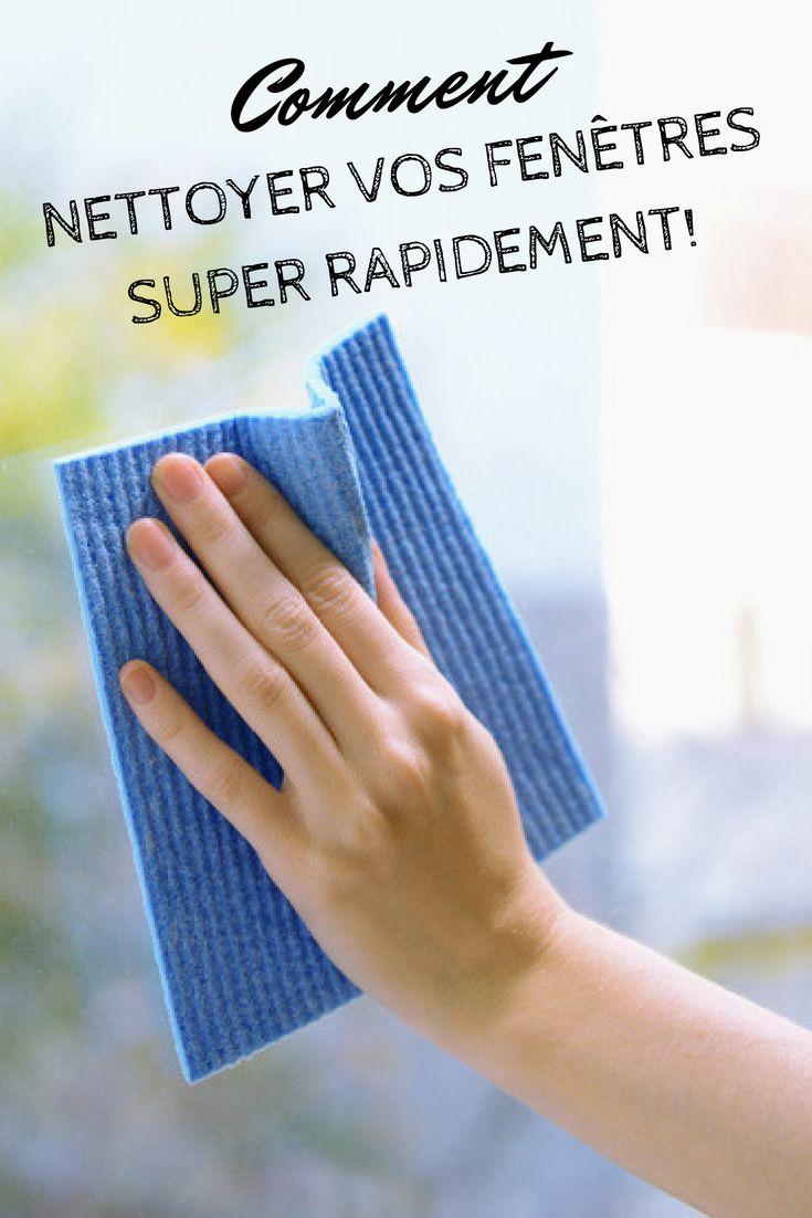 comment nettoyer vos fenêtres super rapidement!. . . . . . #maison