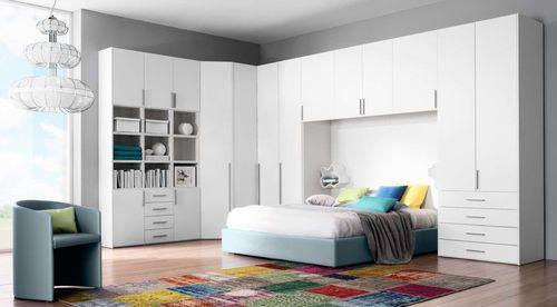 Armoire de chambre contemporaine / pont de lit 3FD1070 Corazzin Group - Contract & hotel