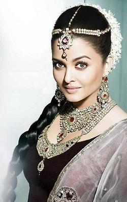 Indian actress Aishwarya Rai...