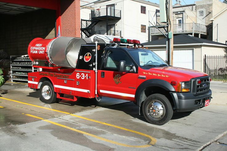 Chicago Fire Dept 631 High Expansion Foam Unit