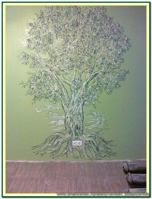 Оформление подвала. Роспись стен и лепнина . Мои работы.. Обсуждение на LiveInternet - Российский Сервис Онлайн-Дневников